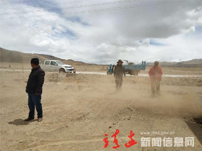 走近靖边援藏农业技术干部刘汉宇