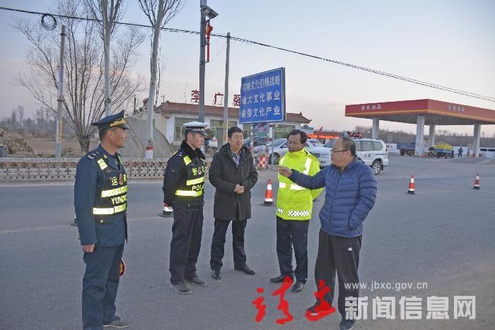 赵少毅突击检查我县非洲猪瘟疫情防治措施情况