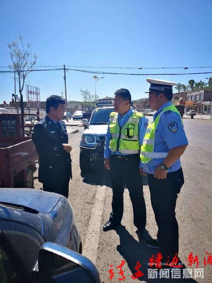 靖邊縣公安局指揮中心開展接處警勤務檢查工作