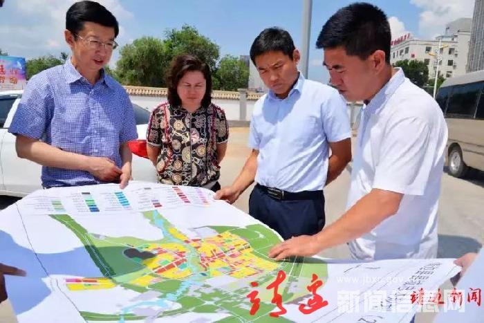 浙大教授來靖指導城市規劃與建設工作