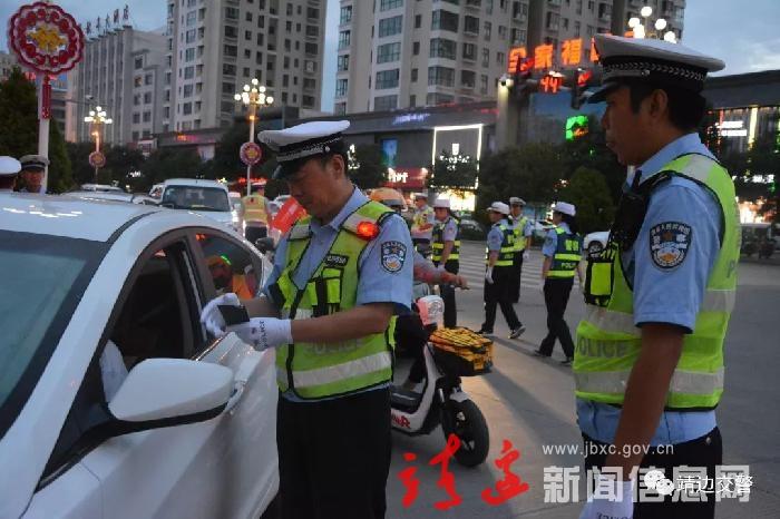 异地交叉用警再入靖边,8名涉酒驾驶员被查