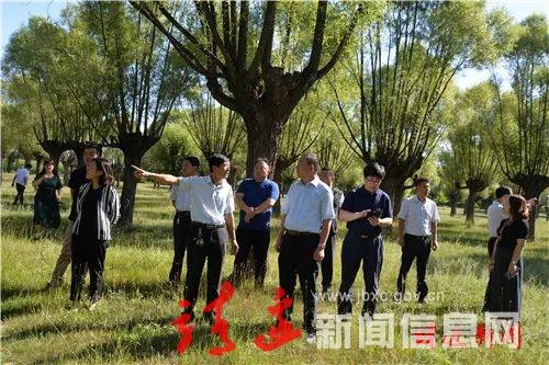 靖边县人大常委会调研全县文化旅游工作
