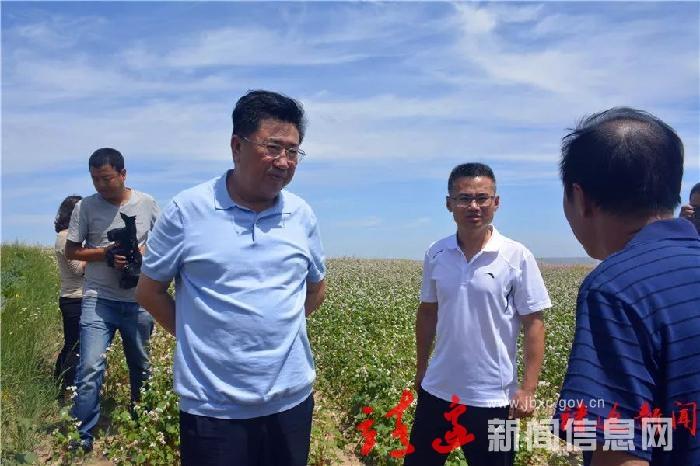 刘维平调研农业农村工作
