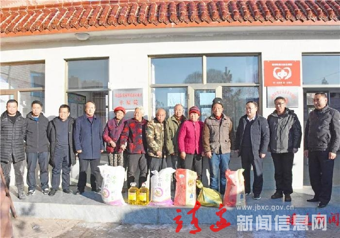 王武看望慰问望夏村、新房滩幸福院及困难老党员